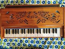 Harmonium with cover