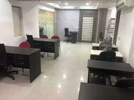 Rent 65000/. Sqft 1000,  Fully Furnished Office