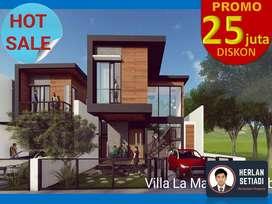 2UNITAJA Rumah 2 Lantai Villa dkt Cihideung Parongpong Lembang Utara