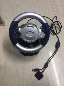 Steering wheel attachment