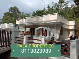 BEAUTIFUL BRAND NEW HOUSE SALE IN PALA PONKUNNAM HIGHWAY NEAR 400 MTR