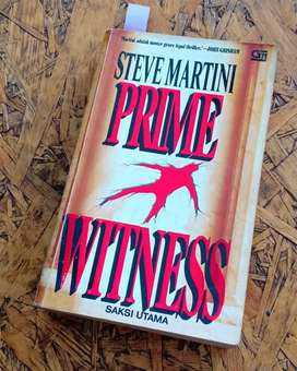 PRIME WITNESS  by STEVE MARTINI