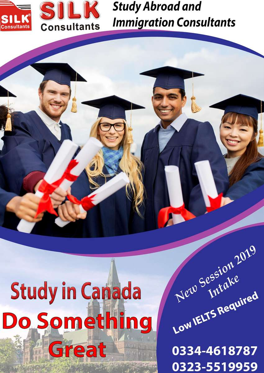 Study in Canada with Silk Consultants Study Abroad & Immigration to ,, 0