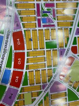 DHA Multan ploats for sale pair ploat in sector I near 300 ft main