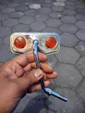 Spion motor mata kucing clasik vintage (NOS)