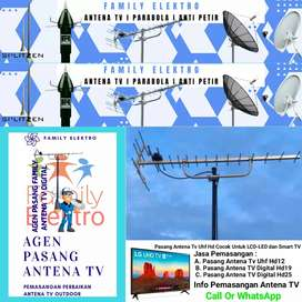 Paket antena terdekat pasang baru antena tv biar jernih