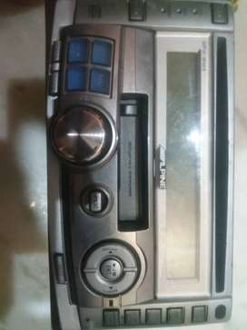 old scorpio model stereo cassette and cd player