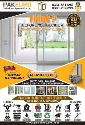uPVC Windows and Doors Best Quality Best Price