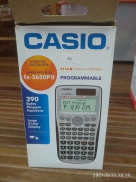 CALCULATOR CASIO FX 3650PII