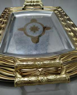Band New Golden Tray set(Last 6set available)