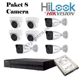 Jual paket cctv kamera 2.0 mp full HD 1080P komplit siap pasang