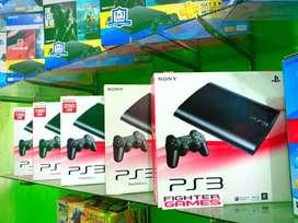 PS3 Superslim Hardisk Banyak pilihan games