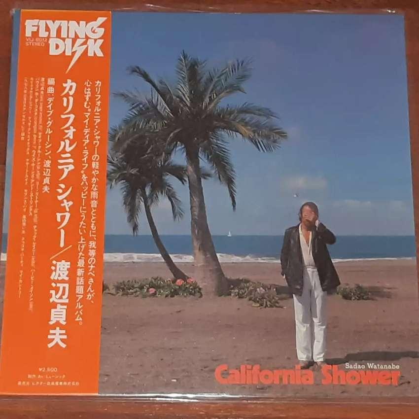 Sadao Watanabe-California Shower (Vinyl/Piringan Hitam) Jpn 0