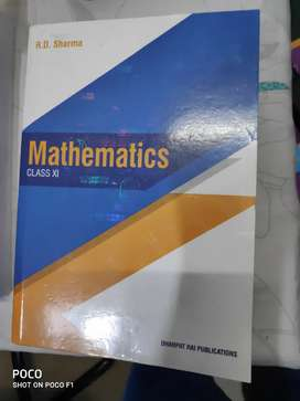R.D.Sharma Mathematics book class11