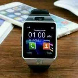 Jam Tangan Smart Android Layar Bisa Telp Sms Dll ada Sim Card Mmc
