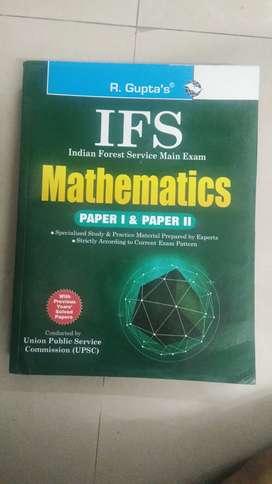 IFS MATHEMATICS Paper 1And Paper 2