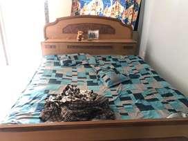 Double sleeping bed