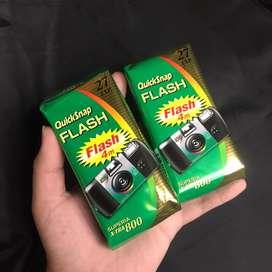 Fujifilm disposable quicksnap asa 800 murahh