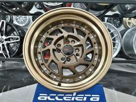 velg racing r151 for datsun ayla H4x100
