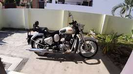 Royal enfield classic 350 2015 model silver colour Excellent Condition