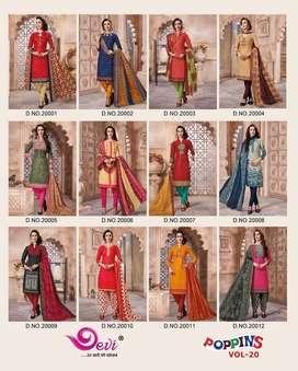Cotton suit for women