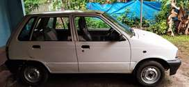 Well maintained maruti 800
