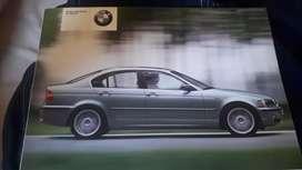 Buku manual BMW 318i facelift 02-04