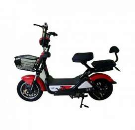 Electric bike like scoot