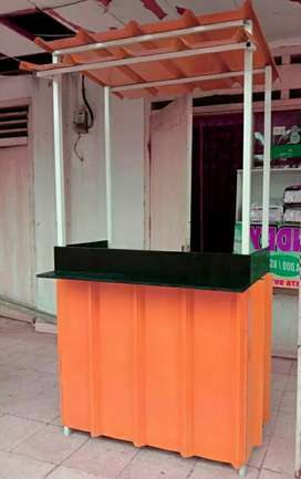 PRODUKSI booth, warung, gerobak, booth semi kontainer, booth container
