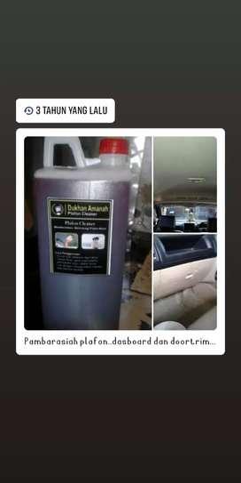 Pembersih plafon mobil dan interior