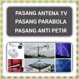 Pasang Antena Tv, Pasang Parabola & Penangkal Petir Jakarta Selatan