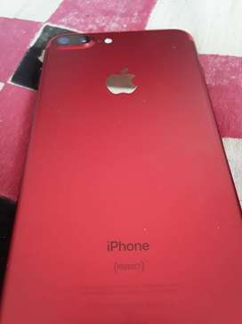 Iphone 7 plus 128 gb red colour limited edition