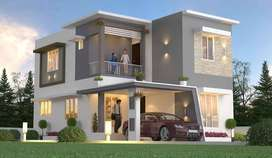 Resort like location - Luxurious 3 BHK Villa for sale nearer to town