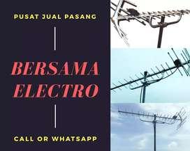 Teknisi pasang signal antena tv digital terdekat kramat jati