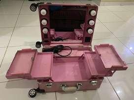 Beauty case merk seongnam ada kaki utk pengganti meja
