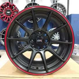 Velg Import Ring 15 Mobil Vios HSR SHINJUKU R15x78 Pcd 4x100 & 4x114,3