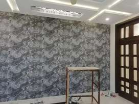 Wallpapers and blinds