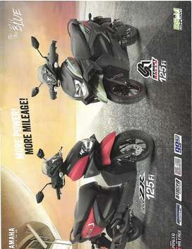 All new yamaha scooty at low down payment