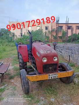 Tractor force tempo 42hp and trailor good condition