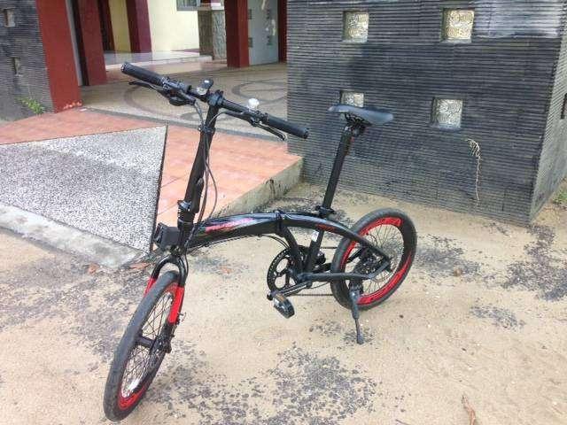 Sepeda lipat United Avand Chester IX, 9 speed hydrolik (bekas) 0
