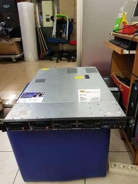Server Hp 1U DL 360 G7 Quad Core Dobel Processor ram 64gb hdd 6TB