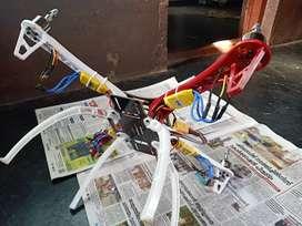 Quardcopter parts, frame, brushlessmotor 4nos1000kv, 30Aesc.4nos,