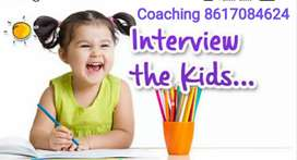 Coaching for kid's Admission test
