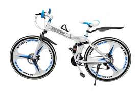 NEW AUDI,BEING HUMAN,BMW 21 GEARS FOLDABLE CYCLE