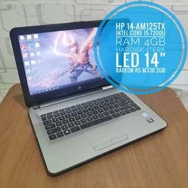 Laptop hp 14 core i5 gaming josss gen 7