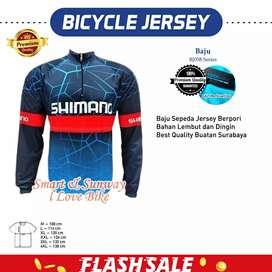 H1555 Baju Jersey Sepeda Best Quality Gratis Ongkir
