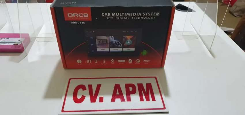 Double din android Full glass Ram 2Gb  Plus pasang di Matraman 0