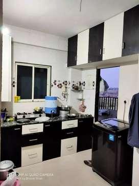 For Rent 2BHK Semi Furnished Flat, Nr.L&T, Ajwa Road, Vadodara