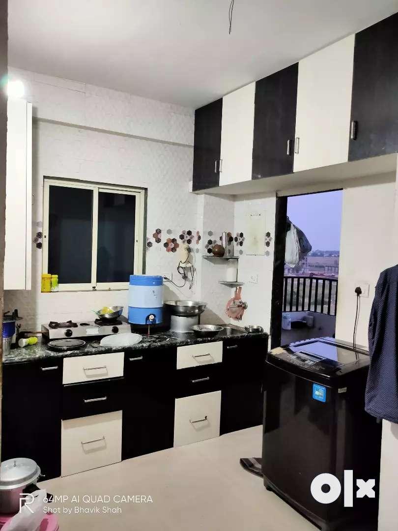 For Rent 2BHK Semi Furnished Flat, Nr.L&T, Ajwa Road, Vadodara 0
