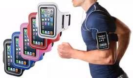 Sport arm band case universal ukuran L muat 6 in